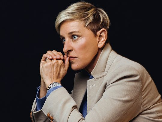FILE -- Ellen DeGeneres in Burbank, Calif., on Nov. 28, 2018. Her daytime talkshow has lost more than a million viewers since September 2020, according to the research firm Nielsen, averaging 1.5 million viewers over the last six months, down from 2.6 million in the same period last year.  (Ryan Pfluger/The New York Times)