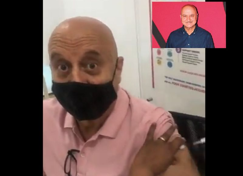 Famous Bollywood actor Anupam took his COVID-19 on March 9, 2021.