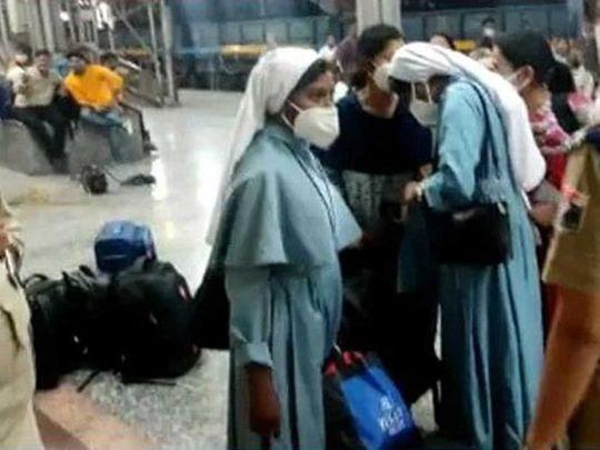 India nun