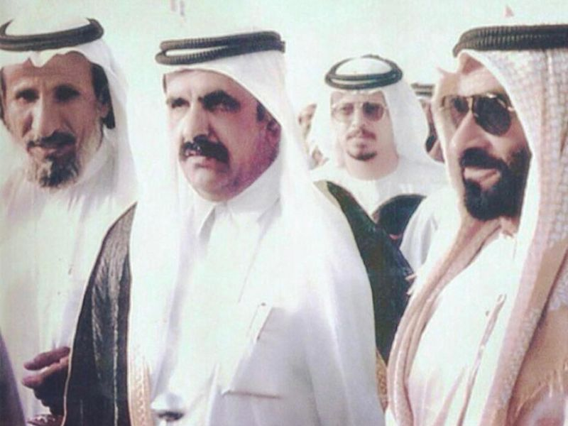 Poet with Zayed