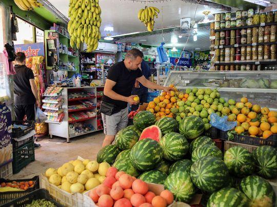 Stock Lebanon currency economy