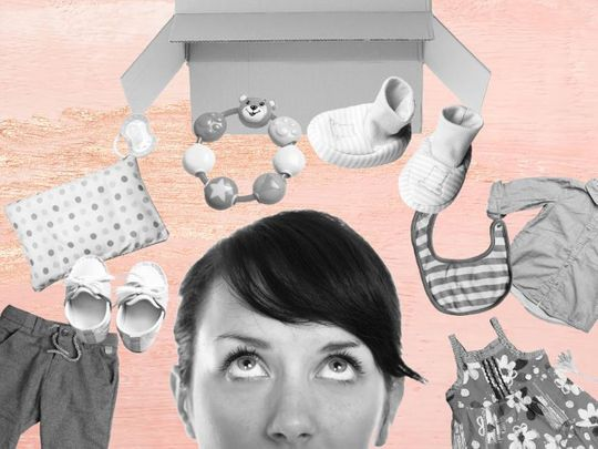 Why do some parents find it so hard to let go of old baby clothes?