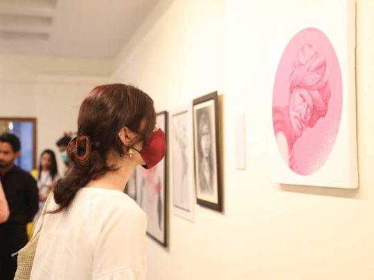 Art exhibition Sambara Art Gallery Karachi
