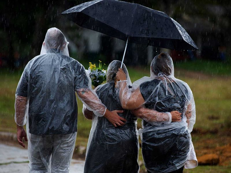 Brazil covid funeral