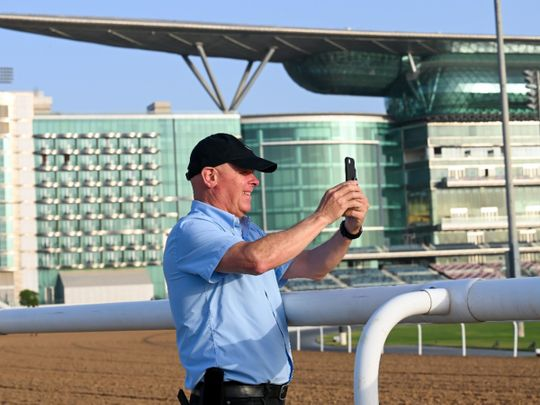 Dubai World Cup - Trainer Michael Stidham