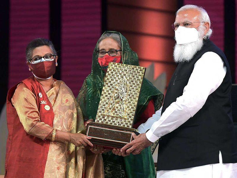 Modi Sheikh Hasina india bangladesh