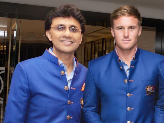 Anis Sajan with Jason Roy