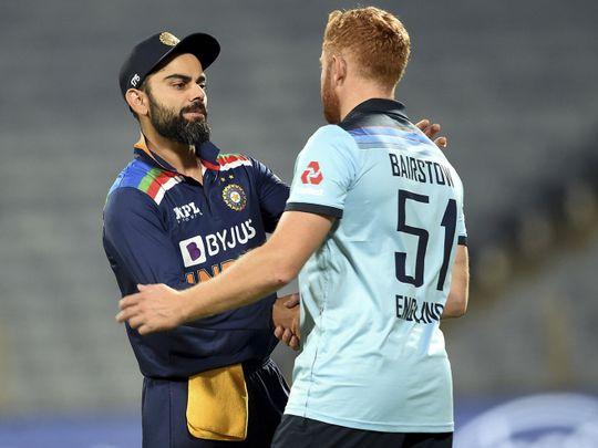 Cricket-Kohli & Bairstow