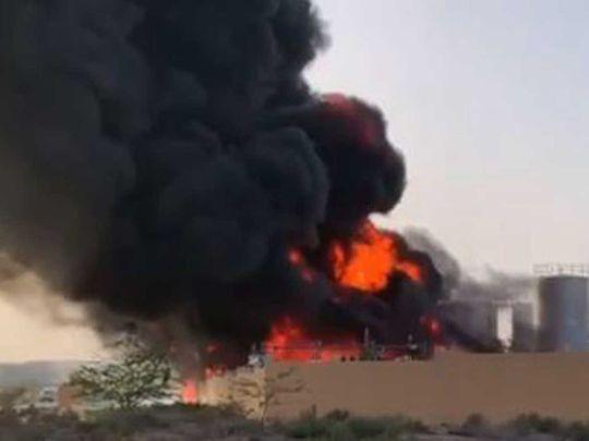 Fire in  UAQ factory