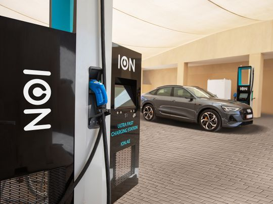 ION charging station