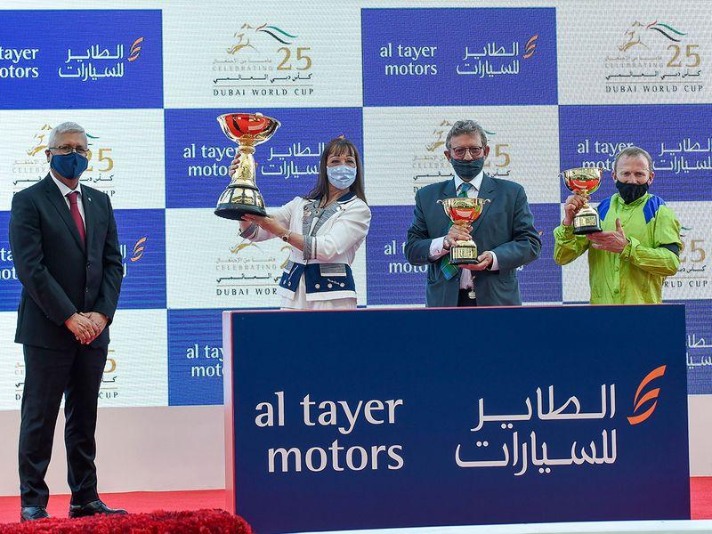 Race 3 awards