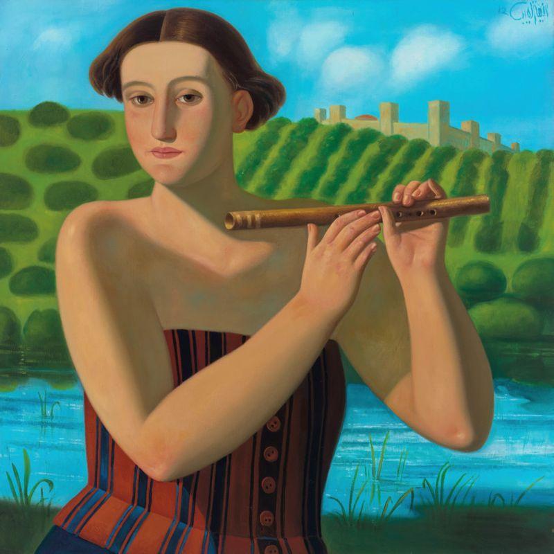 Afifa Aleiby, Flute, 2012, Courtesy of the Artist and Kristin Hjellegjerde Gallery.-1616922924942