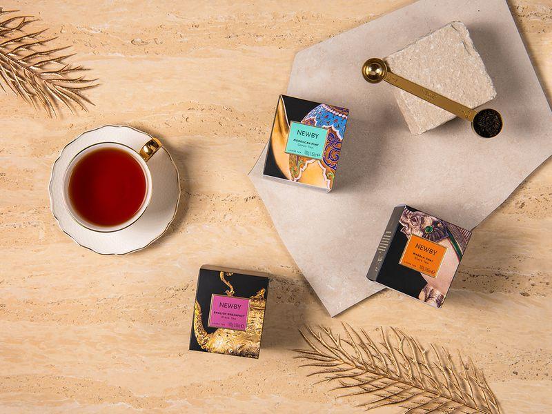 Heritage Loose Tea Cartons