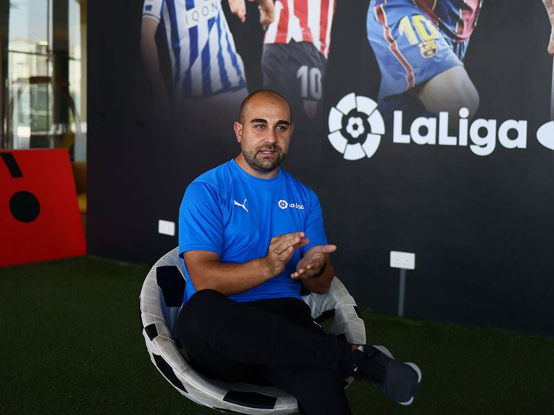 ISD La Liga UAE Head Coach Ruben Carlo