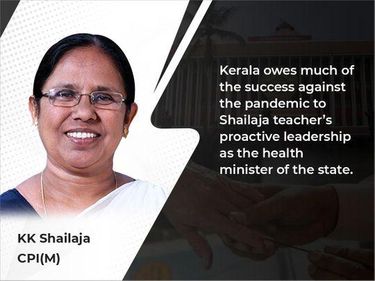 KK Shailaja Poll main