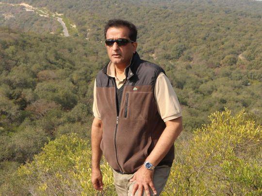 Pakistan's Minister of Climate Change Malik Amin Aslam