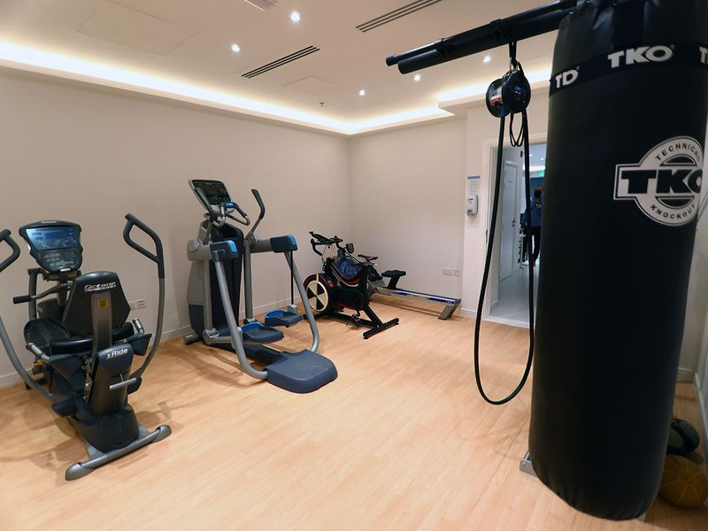 Physio and fitness are also key to operations at ISD in Dubai Sports City