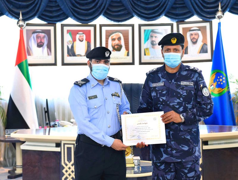 Sergeant Ahmed Al Hammadi honoured by Sharjah Police