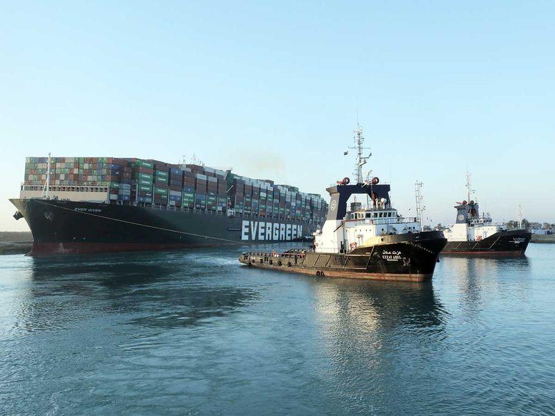 Egypt seizes Suez ship 'Ever Given' pending $900 million compensation