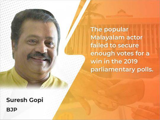Actor-Politician Suresh Gopi
