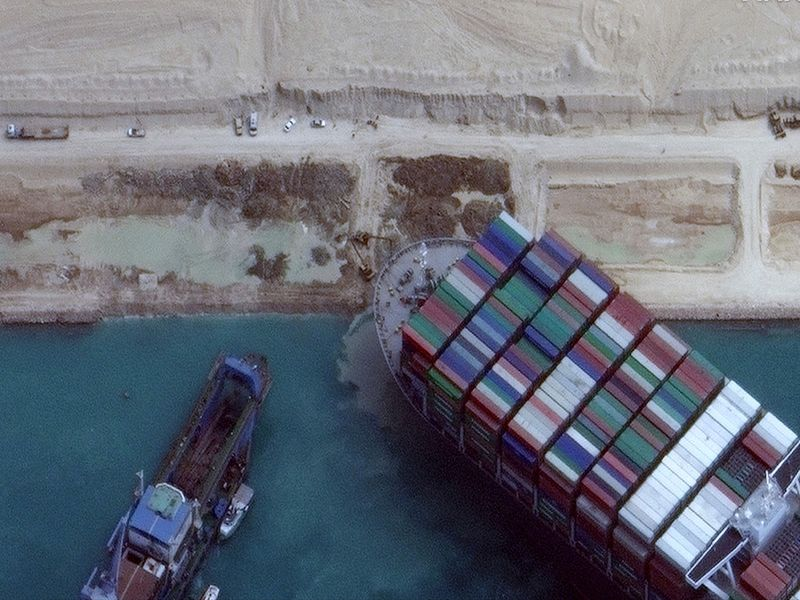 Egypt will release ship that blocked Suez Canal once compensation deal reached