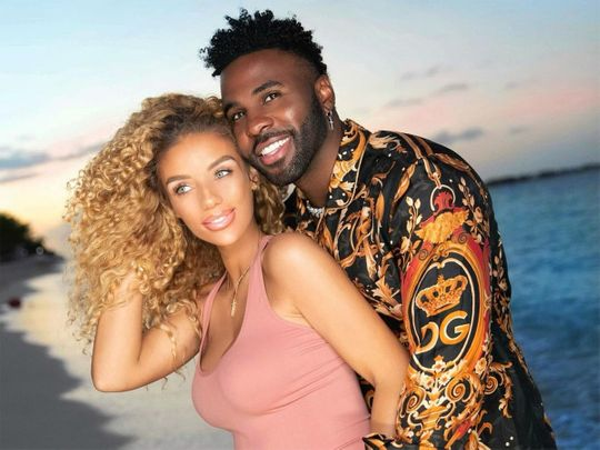 Jena Frumes and Jason Derulo