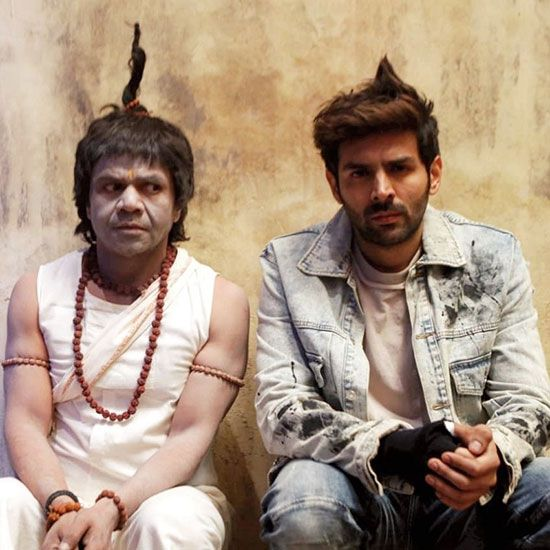 Kartik Aaryan shares hilarious Holi post with Rajpal Yadav