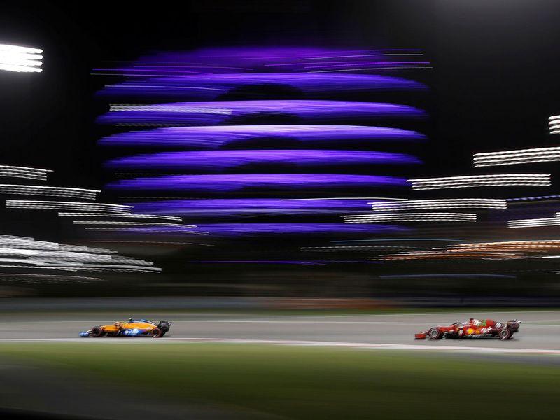 Lando Norris impressed at the Bahrain Grand Prix
