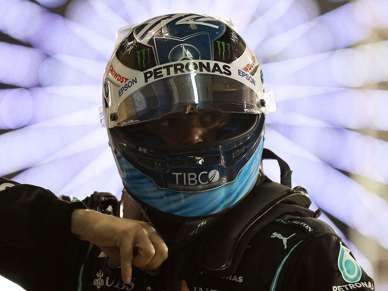 Mercedes' Lewis Hamilton at the Bahrain Grand Prix