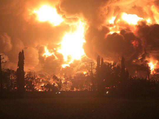 Pertamina's oil refinery in Balongan