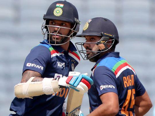 Rohit Sharma and Shikhar Dhawan