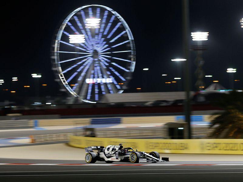Yuki Tsunoda at the Bahrain Grand Prix