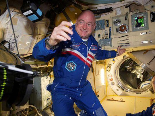 Astronaut Scott Kelly NASA ISS