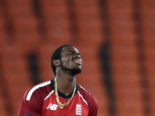 Jofra Archer has had hand surgery