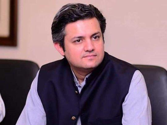 New Pakistan finance minister Hammad Azhar