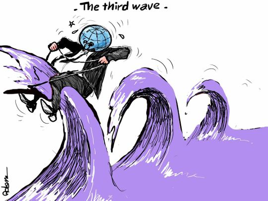 Third wave coronavirus