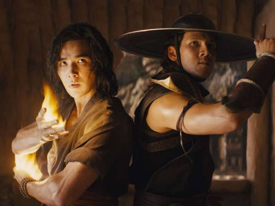 A still from 'Mortal Kombat'.