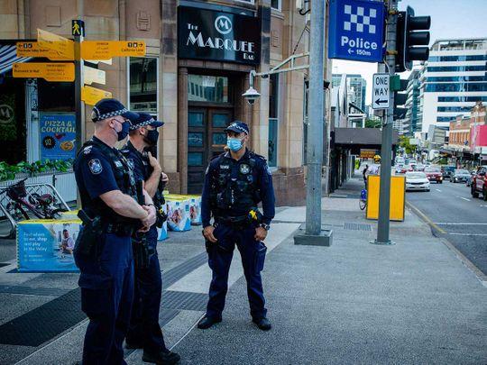 Brisbane Australia shutdown