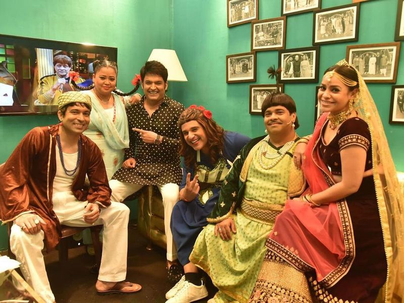 Kapil Sharma and his team