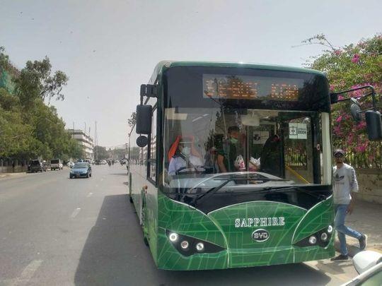 Karachi Pakistan electric bus