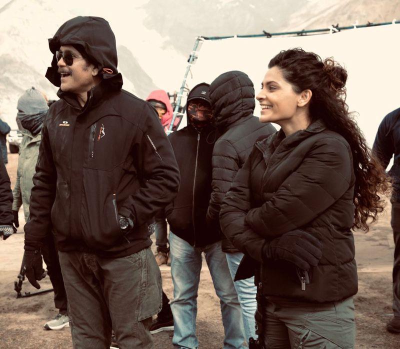Nagarjun and Saiyami Kher in Wild Dog