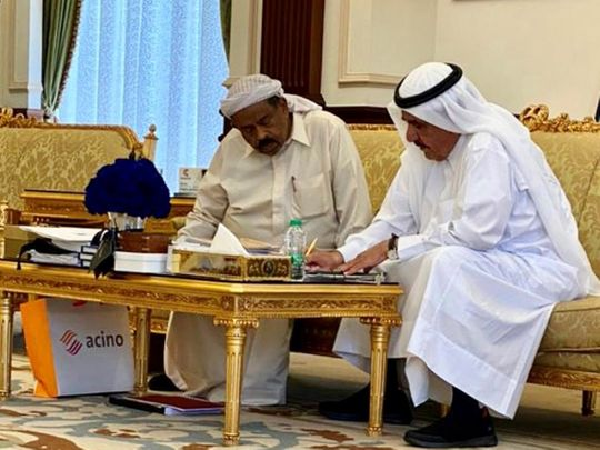 P.K. Abdul Kader took personal care of Sheikh Hamdan