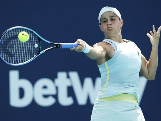 Tennis-Barty
