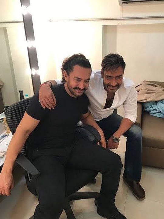 Ajay Devgn  and Aamir Khan