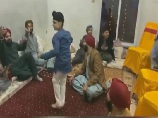 Boy from Pakistan's Sikh community performs traditional dance, video goes viral .