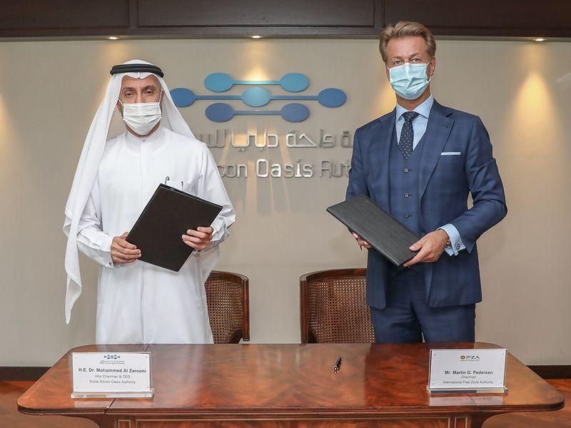 DUbai Silicon Oasis Authority & IFZA partnership