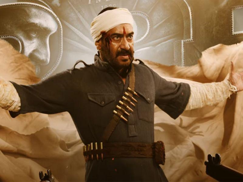 Ajay Devgn in the teaser for 'RRR'