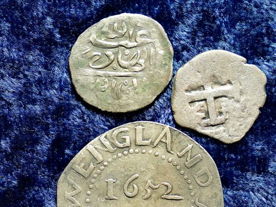 Arabian silver coin