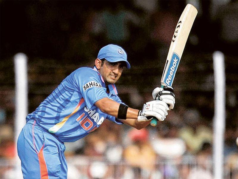 Gautam Gambhir India's 2011 World Cup cricket