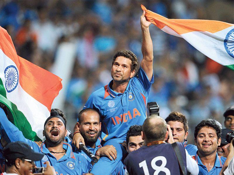 Sachin Tendulkar India's 2011 World Cup cricket